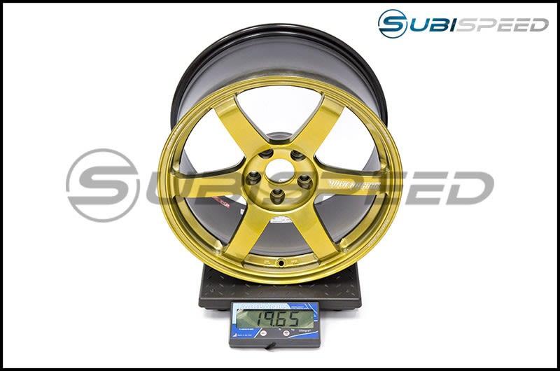 Volk TE37 SAGA Hyper Gold 18x10 +41 Subi Scale