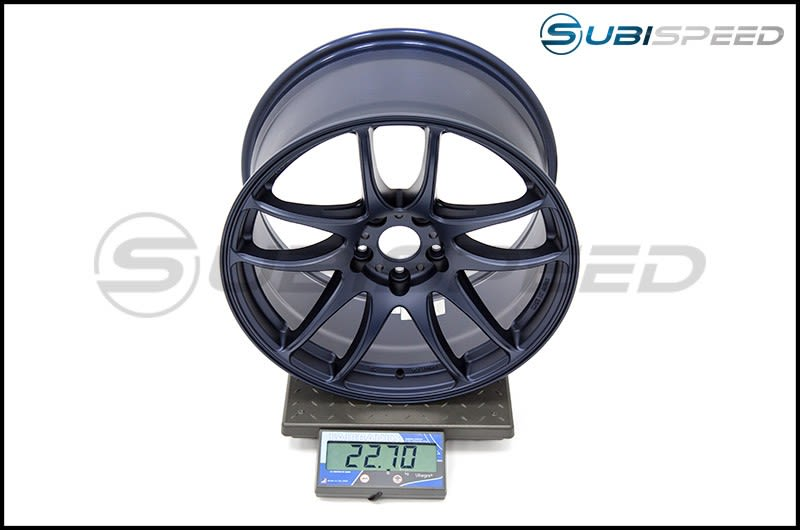 Emotion CR Kiwami 18x9.5 +38  (BLE) Matte Blue Subi Scale