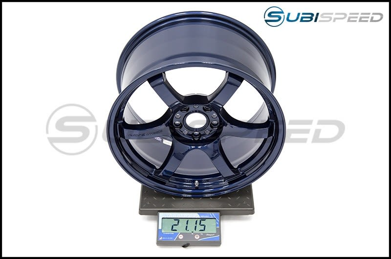 Gram Lights 57DR 18x9.5 +38mm Eternal Blue Pearl Subi Scale