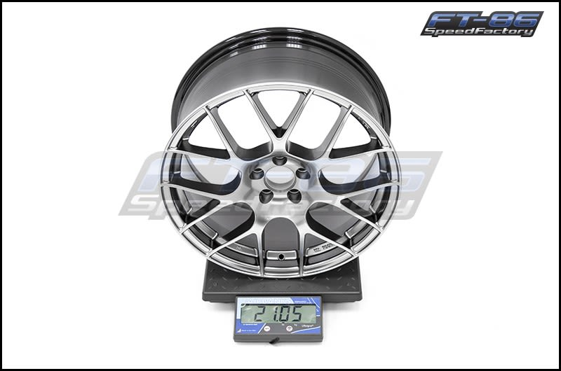 Enkei Raijin Wheels 18x8.5 +45 (Hyper Silver) FT Scale