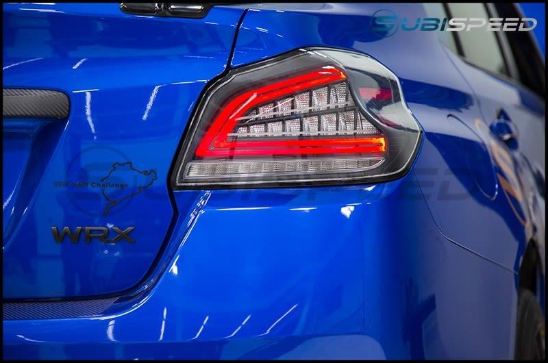 2015-2020 Subaru WRX & STI OLM Spec CR Sequential LED Taillights