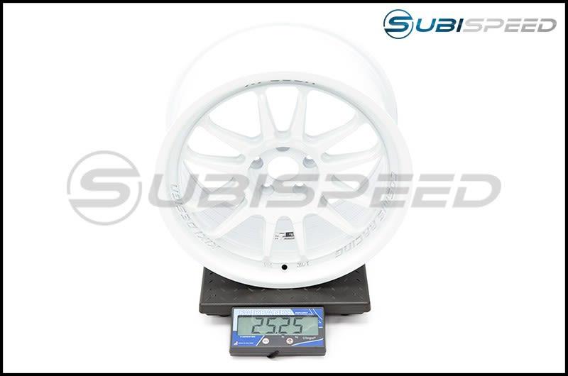 Cosmis Racing Wheels XT-206R 18x9 +33mm White Subi Scale