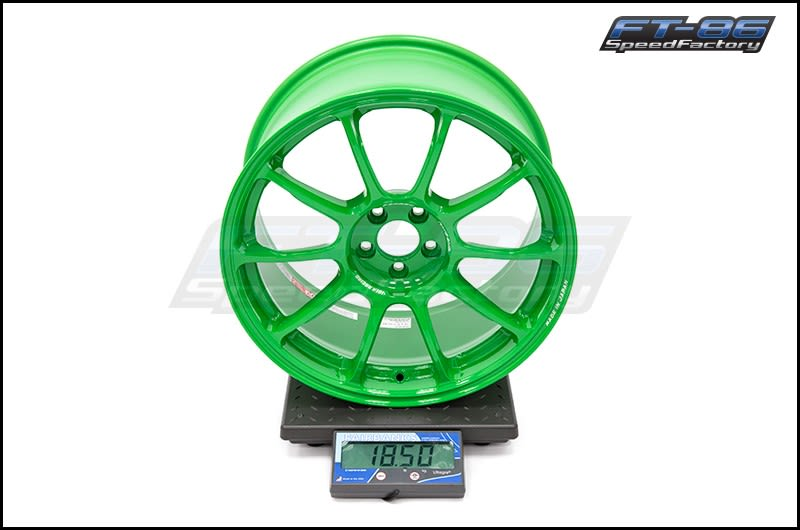 Volk ZE40 Takata Green 18x9.5 +43 FT Scale