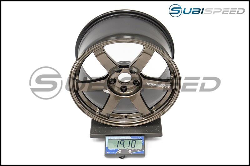 Volk TE37 SAGA Hi-Meta Bronze 18x10 +41 Subi Scale