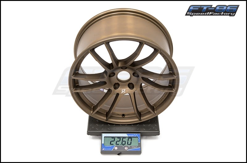 Ray Gram Lights 57XTC Bronze 18X9.5 +38 FT Scale
