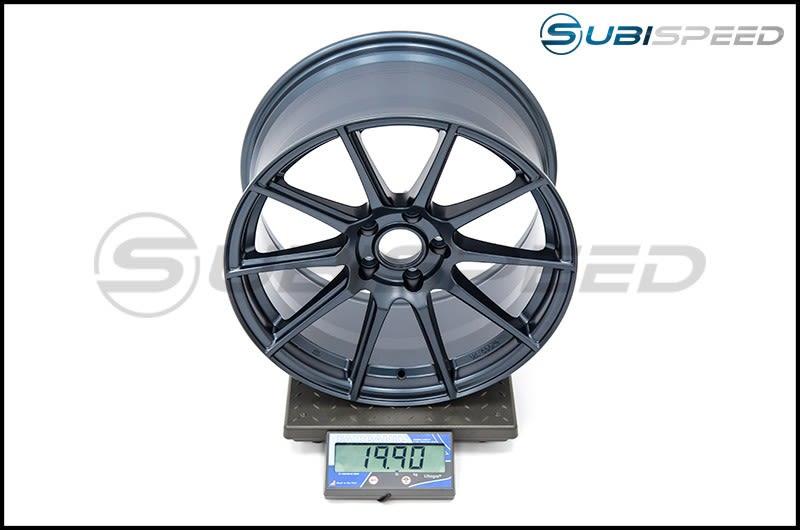 Enkei TS10 18x9.5 35mm Offset 72.6mm Bore Frozen Blue Wheel Subi Scale