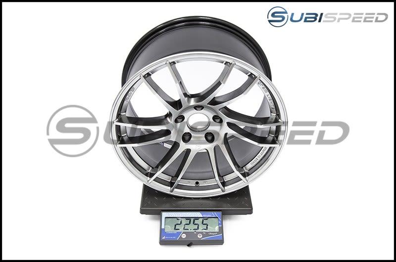 Gram Lights 57XTC 18X9.5 +38 Shining Silver Subi Scale