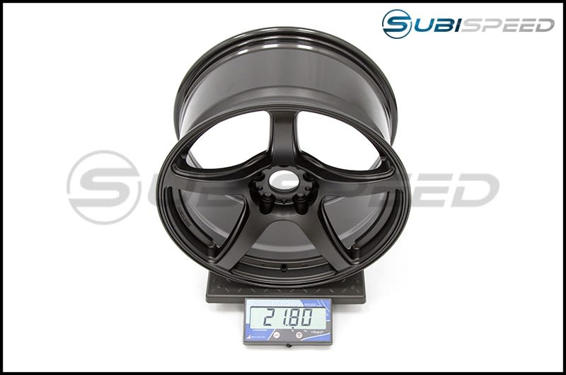 Emotion T5R Matte Graphite 18x9.5 +38 Subi Scale