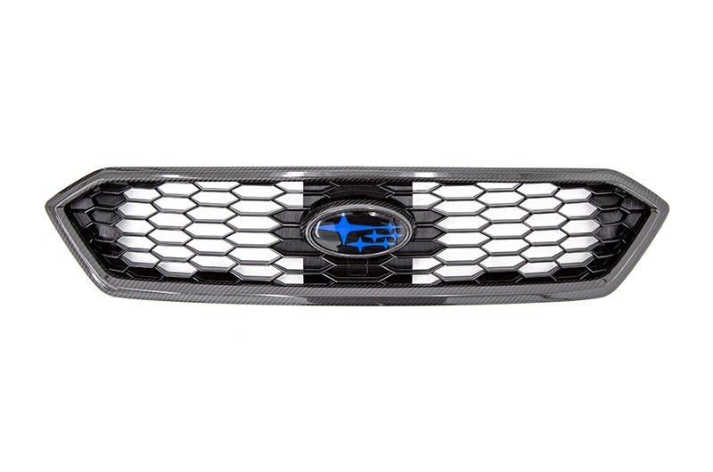 OLM 2018 JDM OE Style Grille with Carbon Fiber Overlays-1