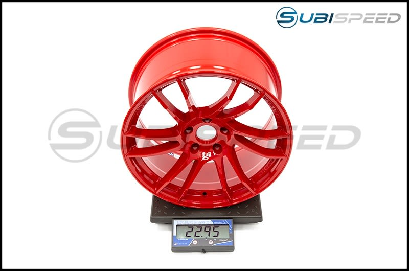 Ray Gram Lights 57XTC Red 18X9.5 +38 - 2015+ WRX  STI_Subi Scale