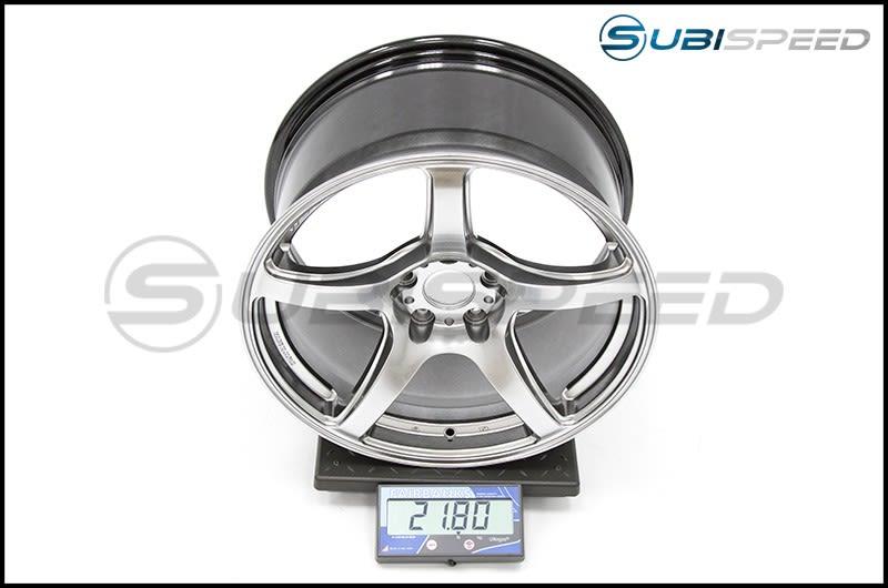 Emotion T5R Glow Silver 18x9.5 +38 Subi Scale