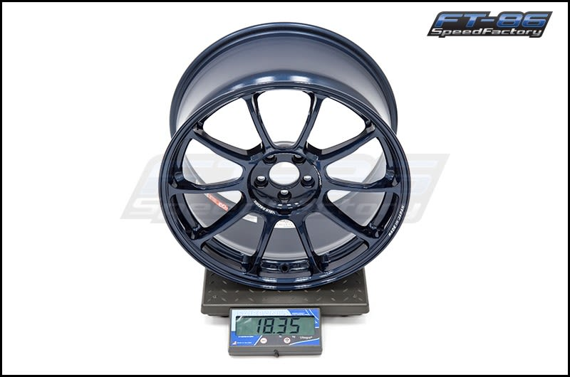Rays ZE40 Mag Blue 18x9.5 +43 FT Scale
