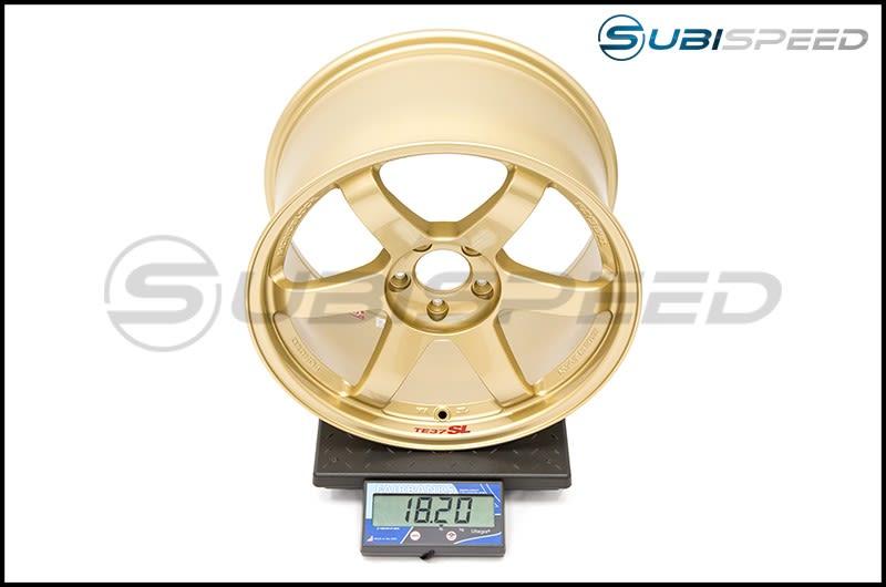 Volk TE37SL Gold 18x10 +40 Subi Scale
