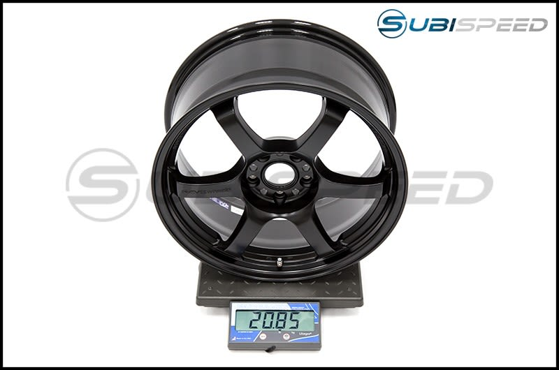 Ray Gram Lights 57DR Semi-Gloss Black 18X8.5 +37 Subi Scale