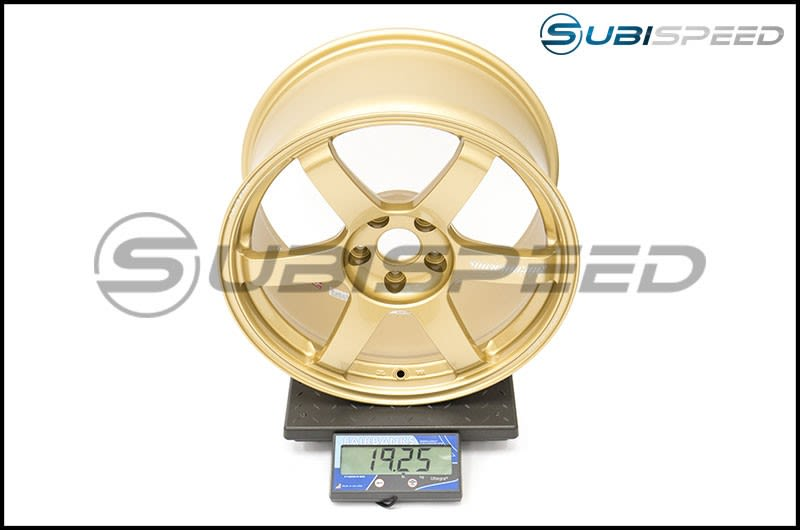 Volk TE37 SAGA Gold 18x9.5 +38 Subi Scale
