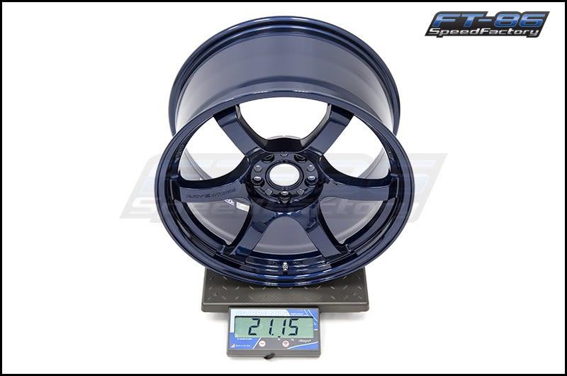 Gram Lights 57DR 18x9.5 +38mm Eternal Blue Pearl FT Scale