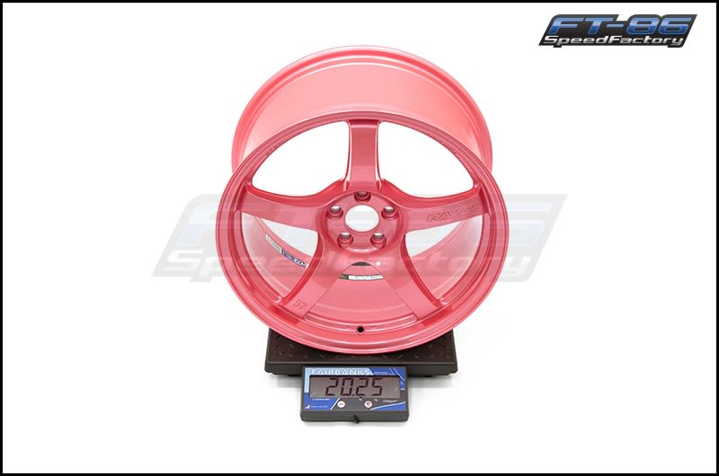 57CR 18X9.5 +38 5-100 SAKURA PINK_FT Scale