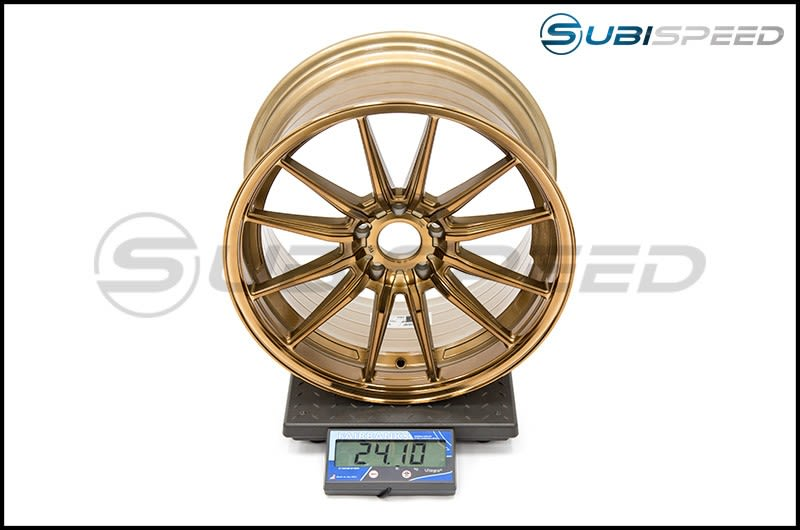 Cosmis Racing Wheels R1 18x9.5 +35mm Hyper Bronze Subi Scale