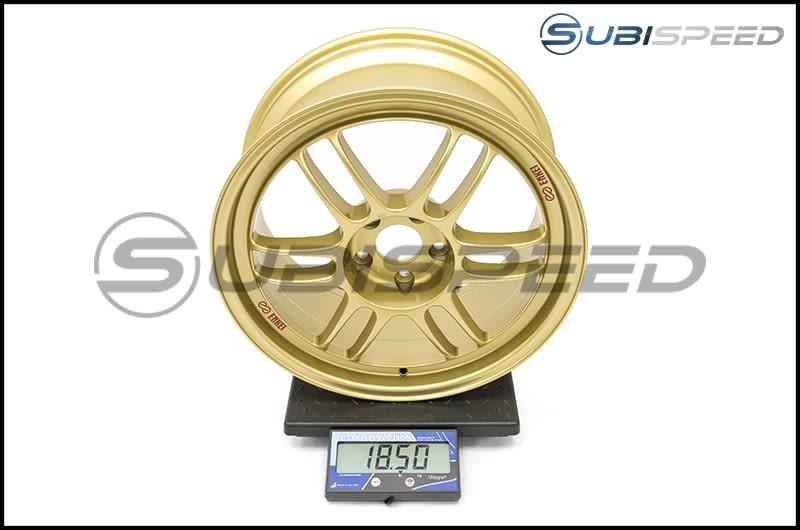 Enkei RPF1 18x8.5  +40mm Gold Subi Scale