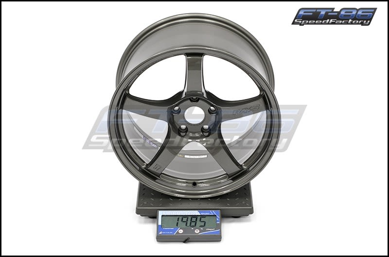 Rays Gram Lights 57CR HS Gunmetallic 18x9.5 +38 FT Scale
