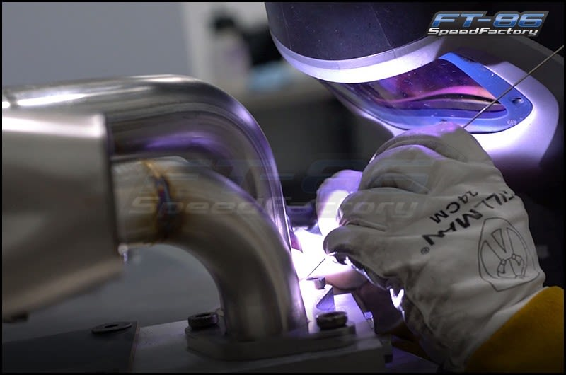 FT-86 SpeedFactory Header Welding