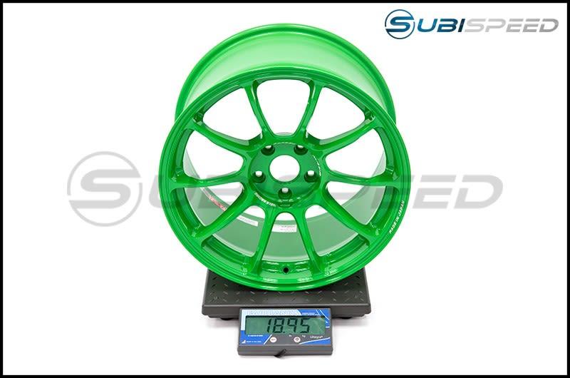 Volk ZE40 Takata Green 18x10 +35 Subi Scale