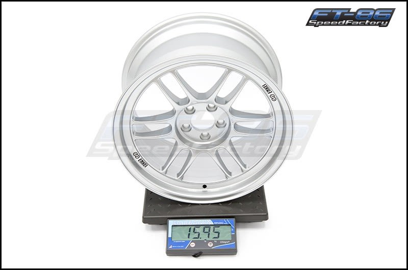 Enkei RPF1 Wheels 17x9 +35mm (Silver) FT Scale