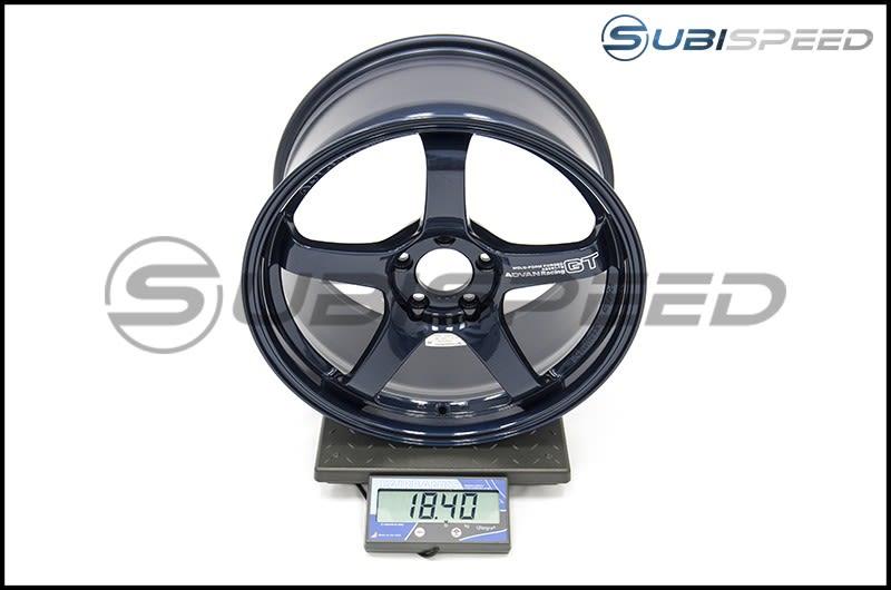 Advan Racing GT Racing Titanium Blue Subi Scale