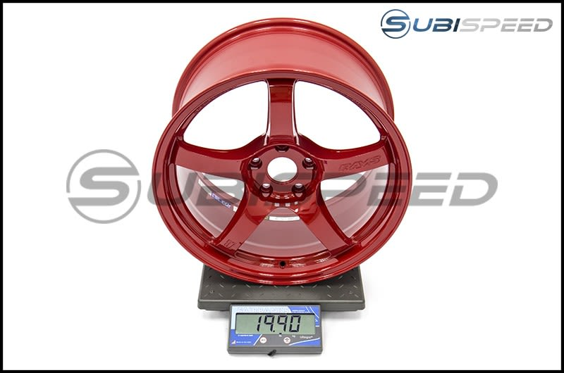 Rays Gram Lights 57CR Subispeed Exclusive Milano Red