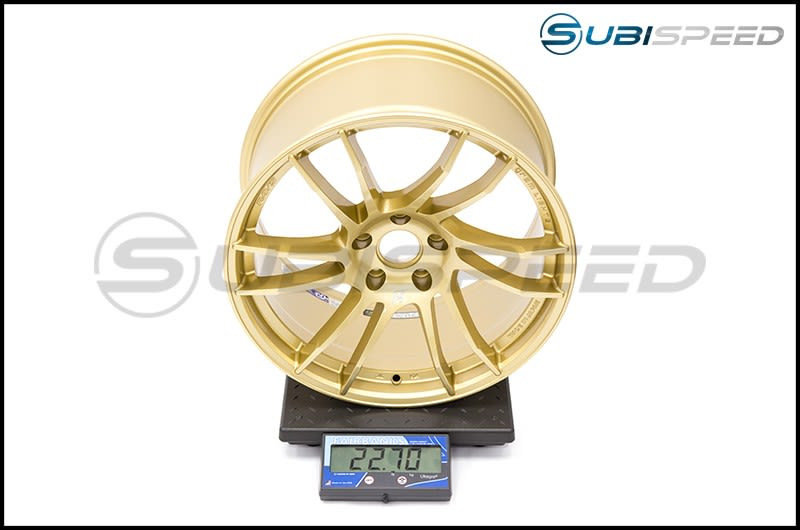 Ray Gram Lights 57XTC Gold 18X9.5 +38 Subi Scale