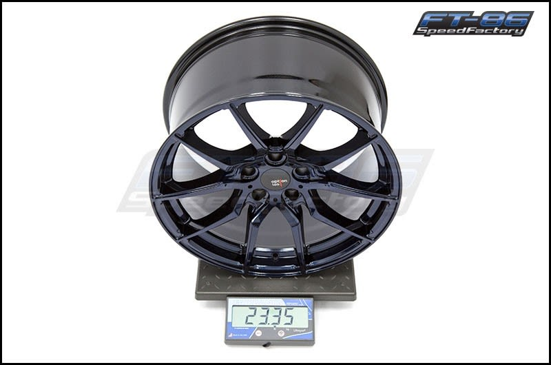 Option Lab Wheels R716 18x9.5 35mm Midnight Blue 16 FT Scale