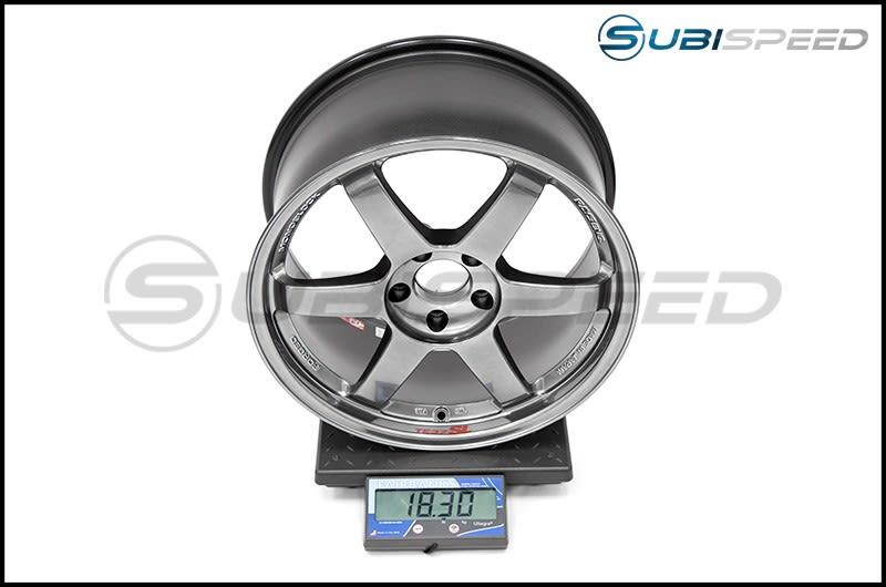 Volk TE37SL Formula Silver 18x9.5 +40 Subi Scale