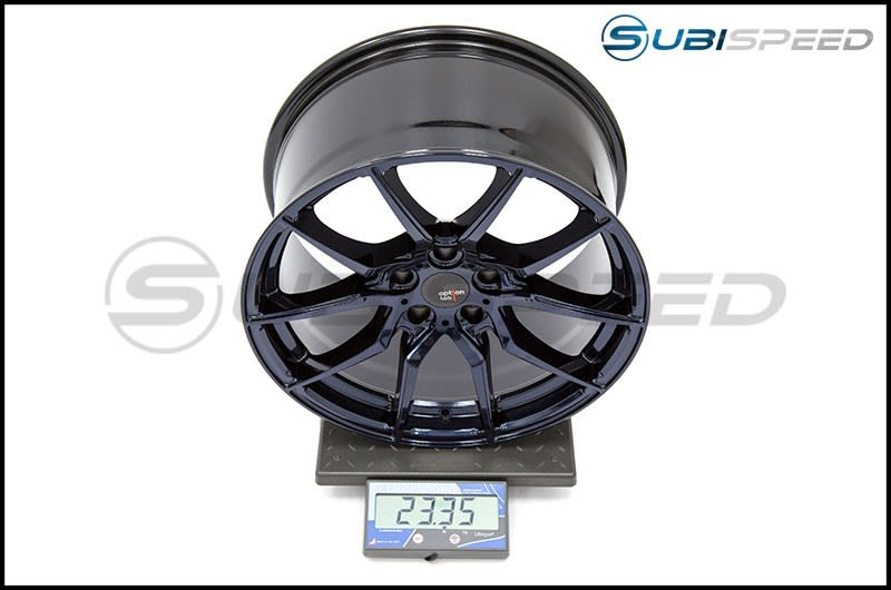 Option Lab Wheels R716 18x9.5 35mm Midnight Blue 16 Subi Scale