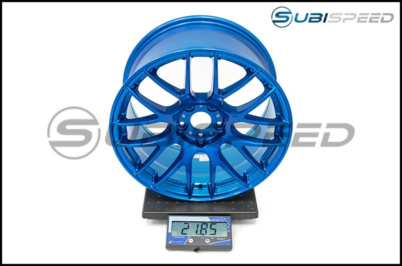 Work Emotion M8R 18x9.5 +38mm Candy Apple Blue Scale Subi