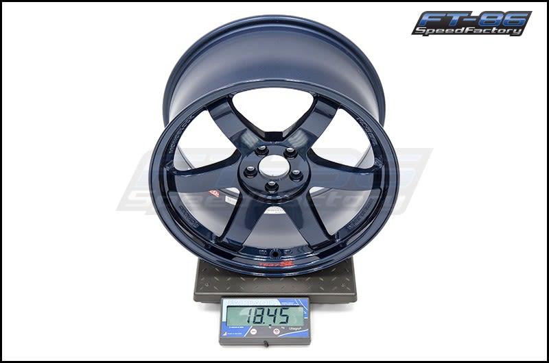 Volk TE37 SL Mag Blue 18x9.5 +40 FT Scale