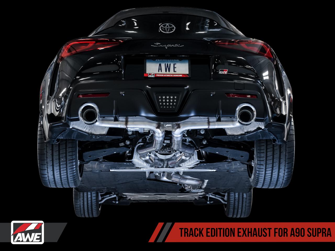AWE Track Edition Exhaust - 2020 Supra