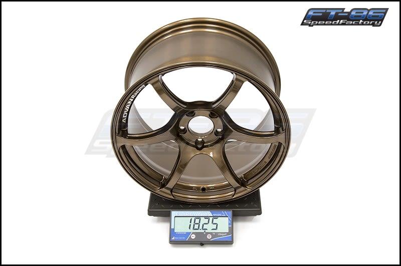 Advan RGIII Umber Bronze 18x9.5 +45 FT Scale