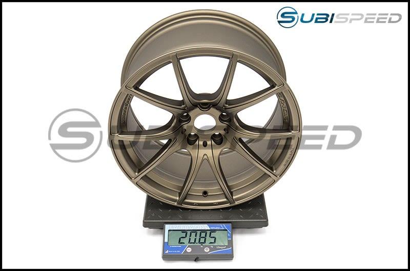 WedsSport SA-10R TS-Bronze 18x9.5 +38 R Face Scale Subi
