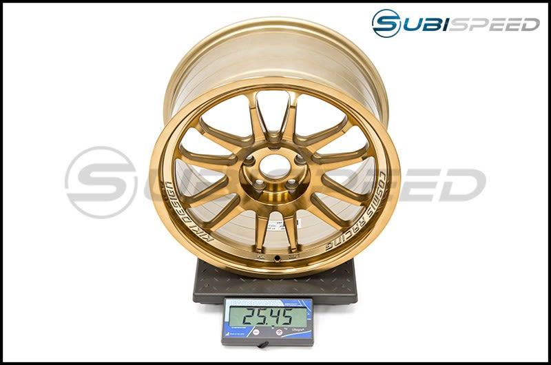 Cosmis Racing Wheels XT-206R 18x9 +33mm Hyper Bronze Subi Scale