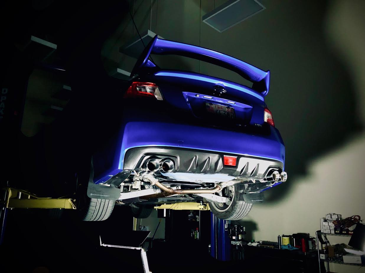 FactionFab Axle Back Exhaust