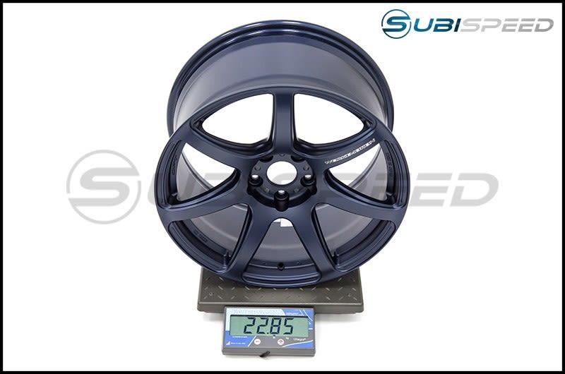 Emotion T7R 18x9.5 +38 (BLE) Matte Blue Subi Scale