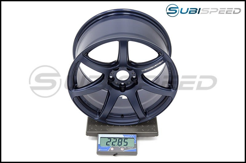 Emotion T7R 18x9.5 +38 (BLE) Matte Blue Subi Scale
