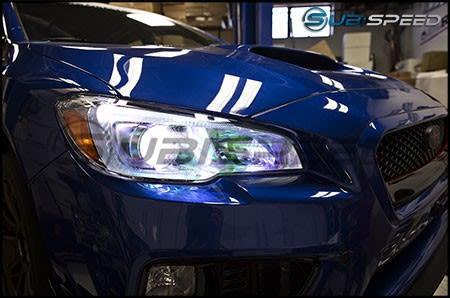 2015-2020 Subaru WRX & STI Sticker Fab Chameleon Headlight Overlays