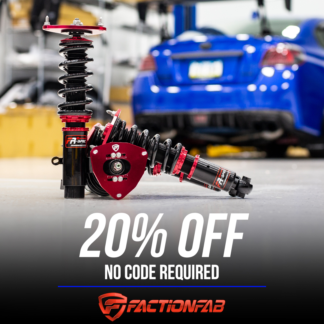 FactionFab 20% off no code required