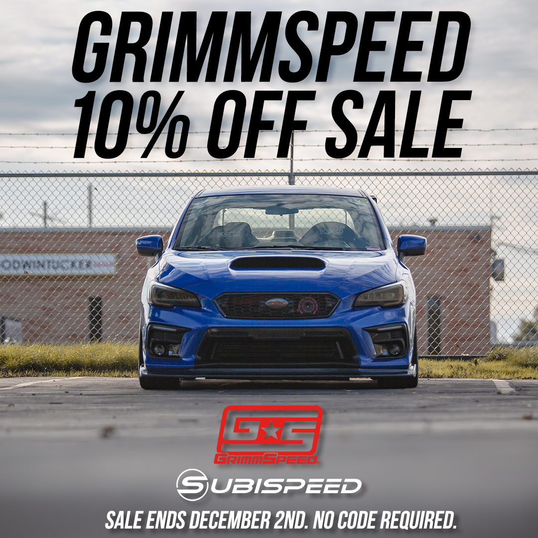 Grimmspeed parts 10% off!