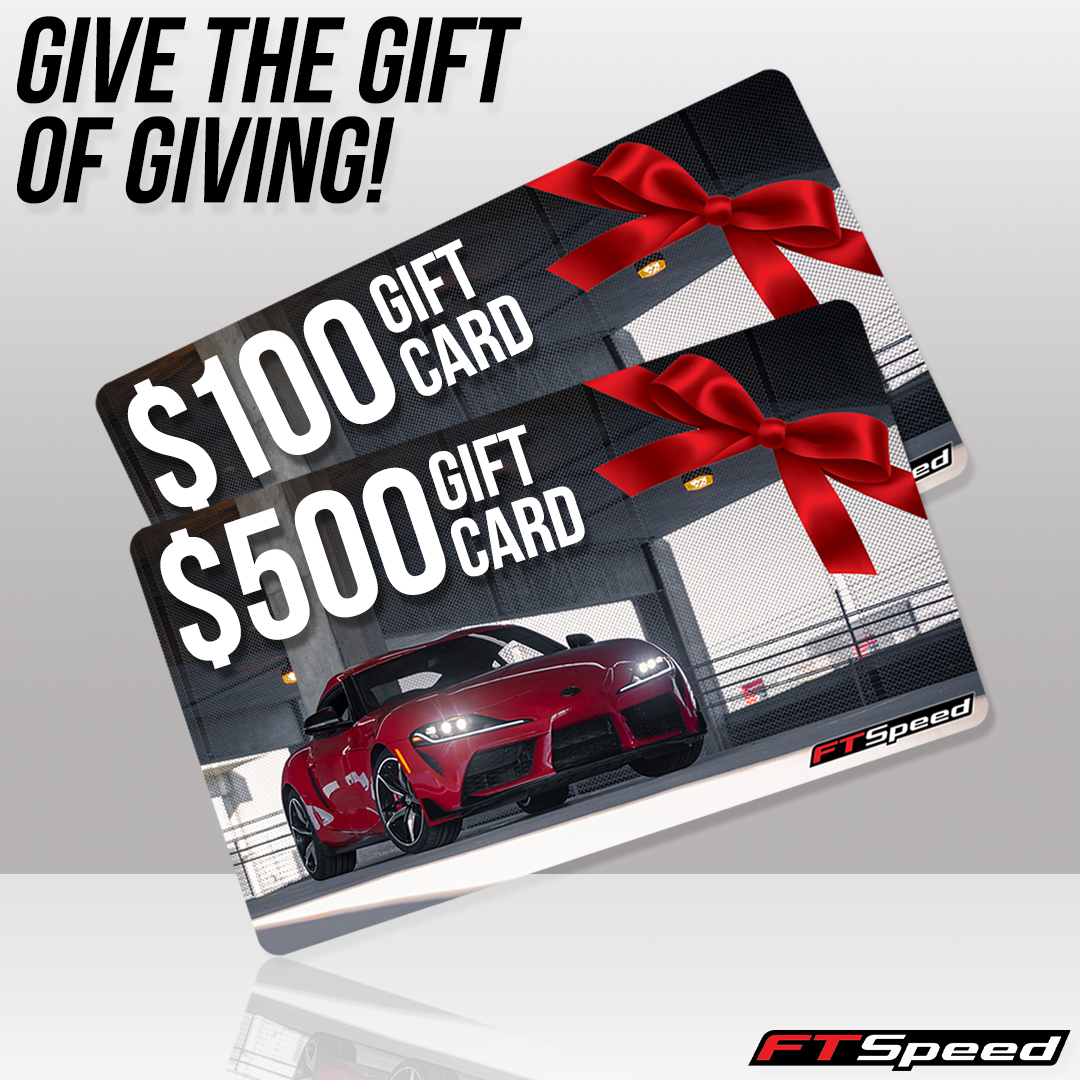 Ftspeed giftcards! Perfect for a Supra 86 brz frs owner