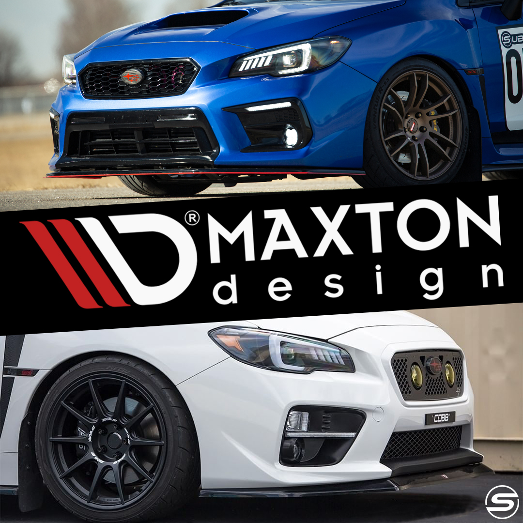 Maxton Design parts in stock and ready to ship!