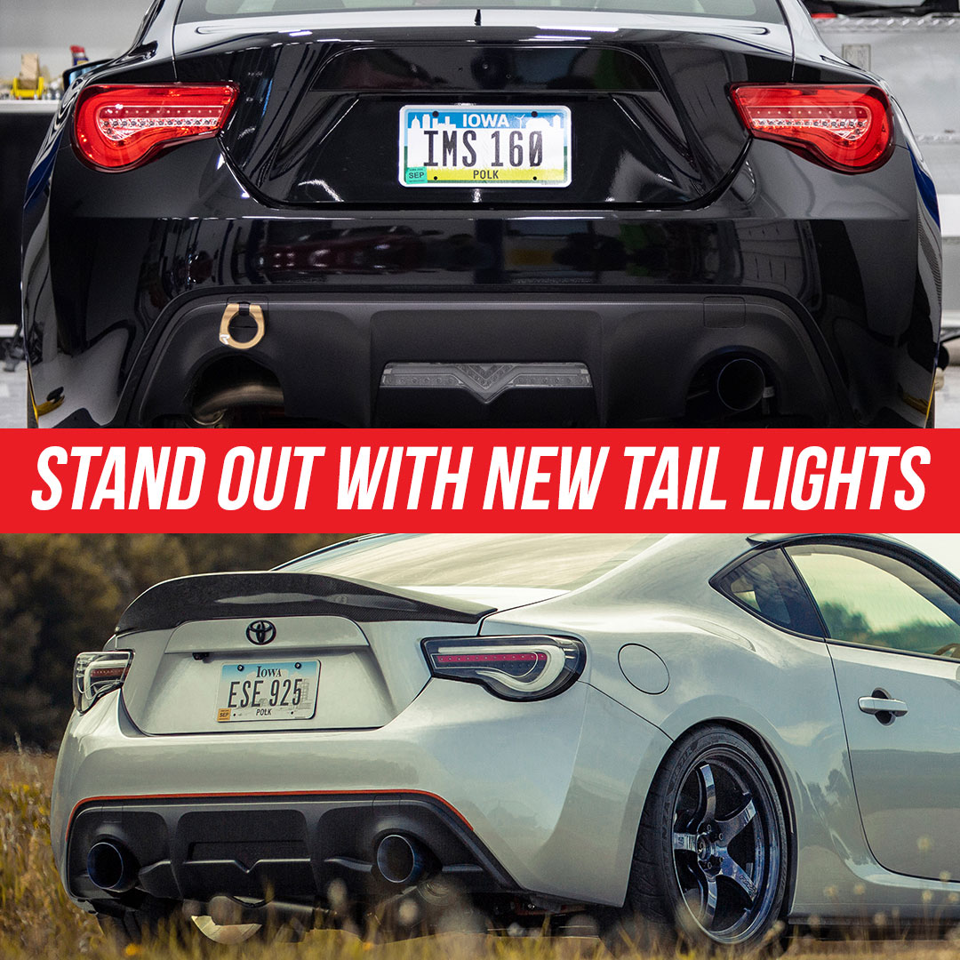 Get new tail lights for FR-S BRZ and 86