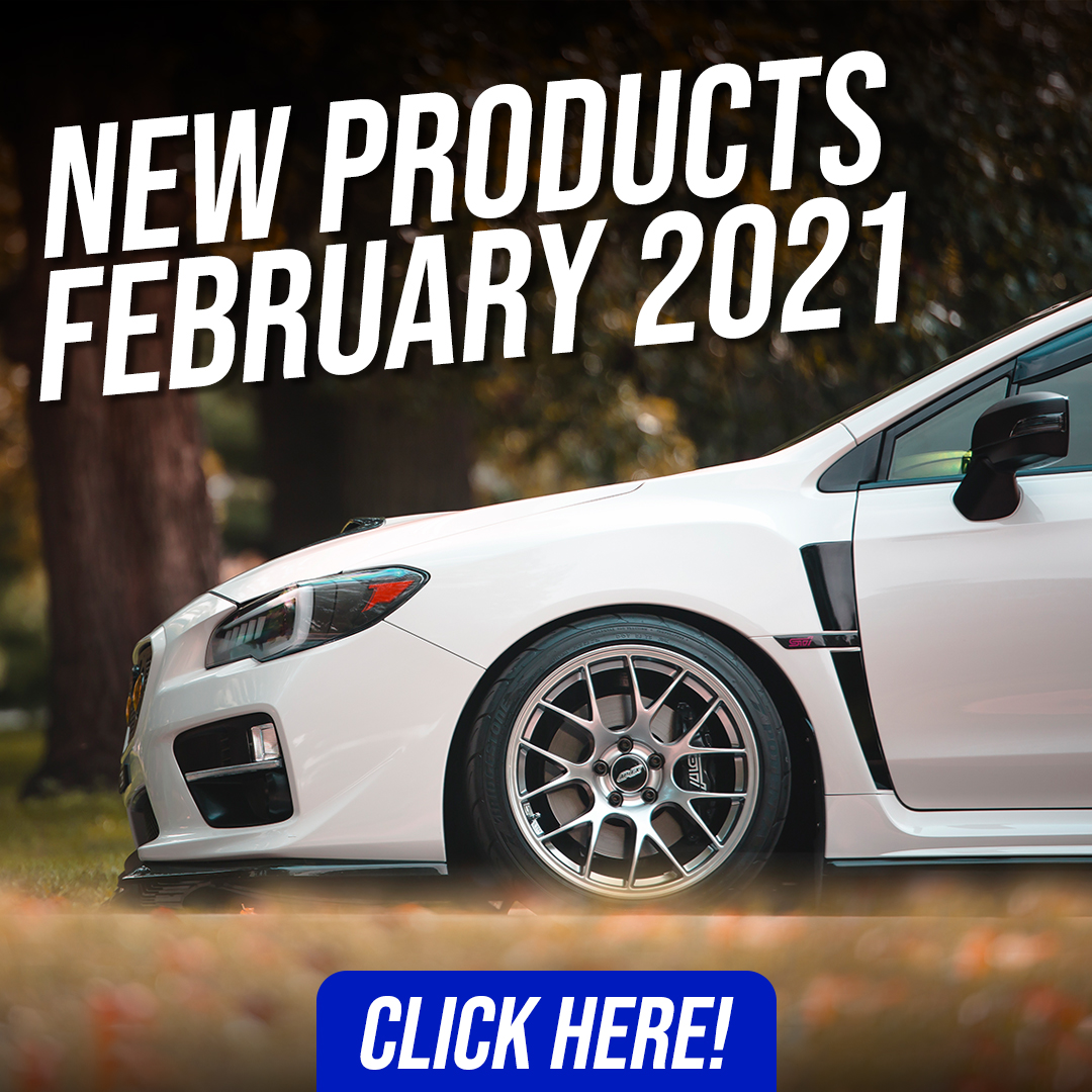 Subispeed New products Febrauary 2021 for your 2015-2020 Subaru WRK & STI