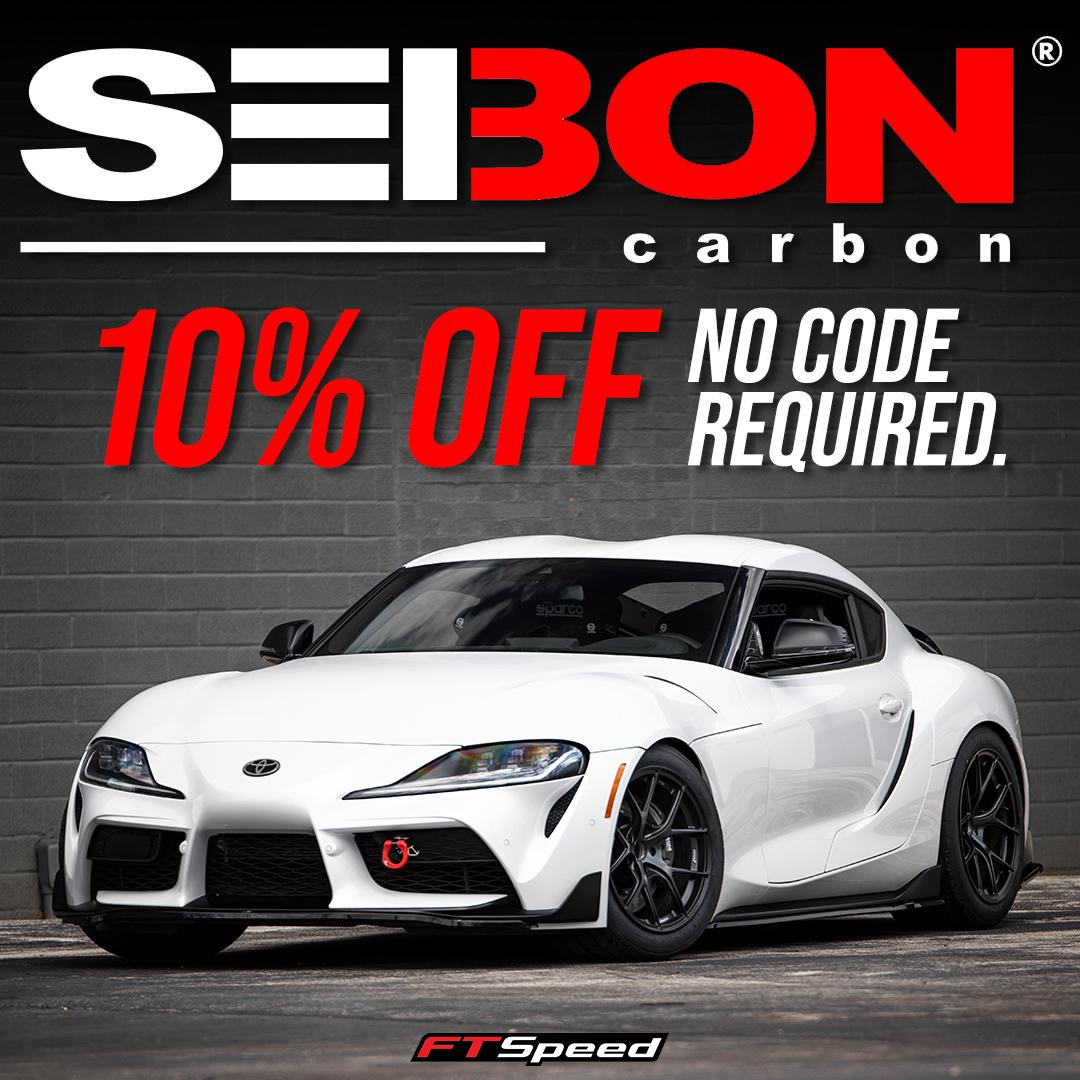 Seibon aftermarket accessories 10% off no code required!